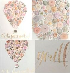 Trendy Ideas For Diy Baby Girl Nursery Wall Art Little Ones Diy Nursery Decor, Baby Nursery Art, Baby Wall Art, Baby Art, Baby Decor, Nursery Canvas Art, Baby Bedroom, Diy Canvas, Nursery Ideas
