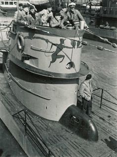 U-552, Red Devil boat of Erich Topp... That was once High Tech.....