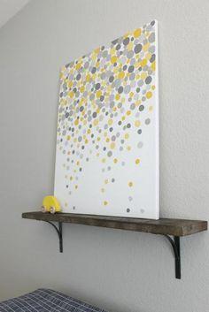 DIY Tutorial: DIY Wall Art / DIY Gallery Art for Carsons Nursery - Bead