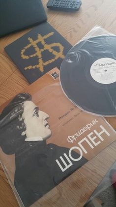 Another Rare Russian arrival - 33' vinyl from Russia as The old meets the new!  Looking forward to tickling the acrylic ivories and creating something extra special for the Classic Series in association  with @art_media_dubai commencing 24.10.15 #dubai #art #classical #piano #violin #cello #debussy #liszt #conversations #italy #germany #mydubai #russia #ussr #inkas #installation #instalove