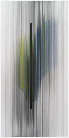 notations 06  2014 graphite & colored pencil on mat board 20 by 40 inches