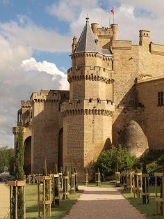 Castillo de Olite, Olite, Navarra Spain