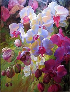 Painting - Bunch of Flowers (looks real)