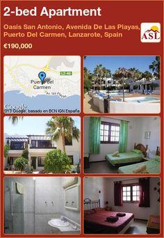 2-bed Apartment in Oasis San Antonio, Avenida De Las Playas, Puerto Del Carmen, Lanzarote, Spain ►€190,000 #PropertyForSaleInSpain