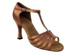 """Ladies' Latin Rhythm Salsa Signature S9273 Tan Satin 2.5"""" Heel Very Fine Shoes, http://www.amazon.com/dp/B008QT9LP2/ref=cm_sw_r_pi_dp_B7Jfqb08CBNXC"""