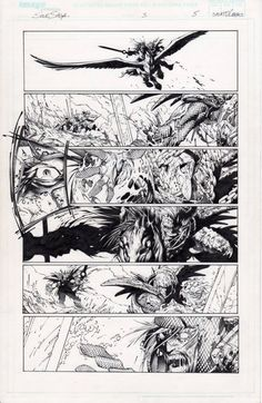Soul Saga page 5 Comic Art Comic Book Artists, Comic Books, Soul Saga, Comic Page, A Comics, Original Art, Sketches, Ink, Boards