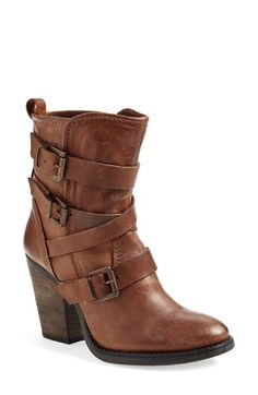 Free shipping and returns on Steve Madden 'Yale' Belted Boot (Women) at Nordstrom.com. A stacked-heel boot cut from supple leather is corseted with a bevy of belts for authentic, casual style.