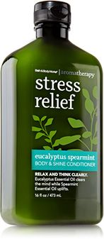 Eucalyptus Spearmint Body & Shine Conditioner - Aromatherapy - Bath & Body Works