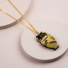 Your place to buy and sell all things handmade Washer Necklace, Pendant Necklace, Kintsugi, Tea Bowls, Little Bag, Black Box, Ancient Greece, Hand Coloring, Buy And Sell