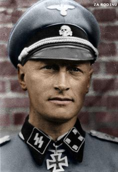 SS-Standartenführer MAX HANSEN Max the man, a born soldier and officer who always fought at the front