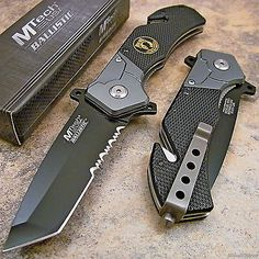 MTECH POW-MIA Tactical Tanto Spring Assisted Opening Rescue Folding Pocket Knife | Objetos de colección, Cuchillos, espadas y cuchillas, Cuchillos plegables de colección | eBay!