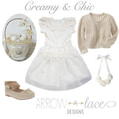 Creamy & Chic. Easter outfit inspiration #arrowandlacelooks