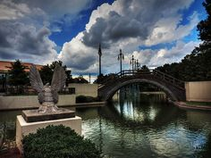 This is Louis Armstrong Park located in the Treme neighborhood of New Orleans, LA.