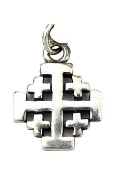 Fine design from the hearts and hands of jewelry artisans. Jerusalem Cross, Freemasonry, Cross Jewelry, Crucifix, Crosses, Metal Working, Pendants, Faith, Charmed