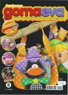 Revistas de manualidades gratis: como hacer bolsos con goma eva