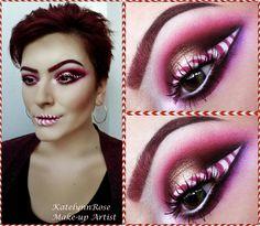 Cady Cane makeup look