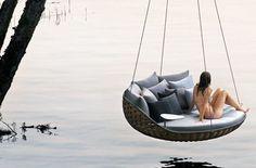 swingrest2  Posso pôr numa humilde varanda...  a sensação de flutuar será a mesma!
