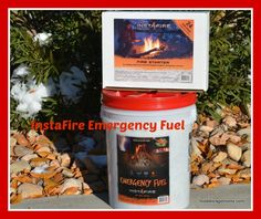 How To Be Prepared With InstaFire Emergency Fuel by Food Storage Moms