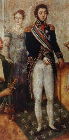 Emperor Pedro I of Brazil and Empress Leopoldina von Habsburg