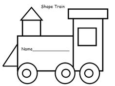 shape_train template from Cuckoo for Choo Choos!