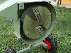 Home made mulcher - second edition - YouTube