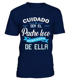 EDICIÓN LIMITADA - PADRE LOCO  #birthday #october #shirt #gift #ideas #photo #image #gift #costume #crazy #nephew #niece