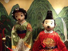【泰迪熊博物馆】朝鲜时代的泰迪熊王&后