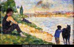 The Black Horse - Georges Seurat - www.georgesseurat.org