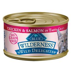 BLUE Wilderness® Wild Delights™ Grain Free Adult Cat Food | Canned Food | PetSmart
