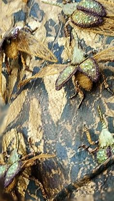 ♒ Enchanting Embroidery ♒  embroidered bugs - Game of Thrones costume