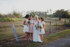Rustic meets elegant for a stunning farm wedding down under. Farm Wedding, Rustic Wedding, Bridesmaid Dresses, Wedding Dresses, Bridesmaids, Elegant, Couple Photos, Pink, Photography