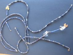 Blue Deep - Blue Sapphire necklace 17A