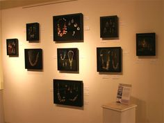The ArtPeople Gallery - John S Brana - Handcrafted Fine Jewelry Wall Installation