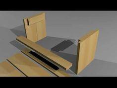 Bank zonder leuning en meer bouwtekeningen om zelf for Bankje steigerhout zelf maken