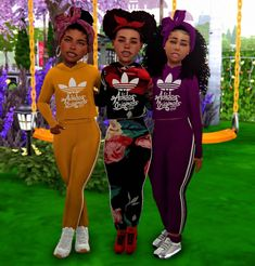 sims 4 cc // custom content clothing //  by AfroSimtric Simmer // #sims4 #sims4cc //