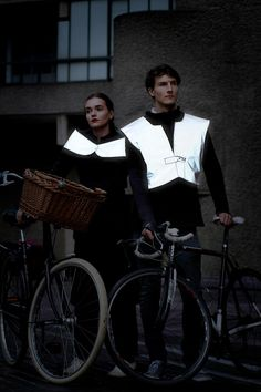 Here is a newsflash- reflective gear doesn't have to be ugly. British designer Sara Henrichs has created a full line of luxury reflective clothing that ensures that you are safe when exercising outdoors in the dark.