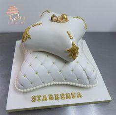 Pillow Christening cake