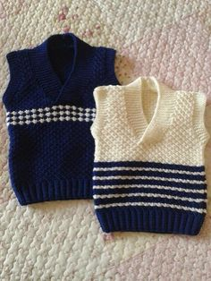 Knitted sweater for boys – Sweater - Stricken Baby Sweater Knitting Pattern, Knit Vest Pattern, Baby Boy Knitting, Knitted Baby Cardigan, Knit Baby Sweaters, Boys Sweaters, Knitting For Kids, Baby Knitting Patterns, Free Knitting