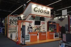 Display design booth stand #ciosaautopartes expo Ferretera  by CAMALEONDISPLAY