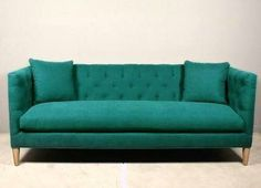 Bies sofa in the most delicious teal.  redinfred