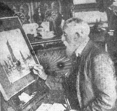 Frederick James Aldridge FJ original signed oil paintings and watercolours -  Robert Perera Fine Art Gallery of Lymington