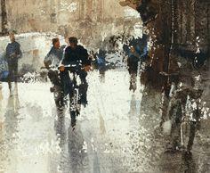Chien Chung-Wei #watercolor jd
