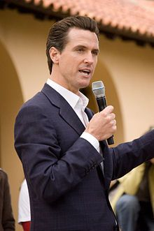 Gavin Newsom, '89, was the youngest mayor of San Francisco and is currently the Lieutenant Governor of California.