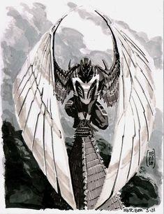 Archangel by Fernando Peniche Comic Art Marvel Comic Character, Comic Book Characters, Marvel Characters, Comic Books Art, Comic Art, Character Art, Marvel Comics Art, Marvel Comic Universe, Marvel Dc Comics