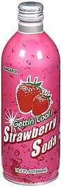 I drank SANGARIA GETTIN' COOL! STRAWBERRY SODA 4 the 1st time last night (12. April 2012) for dinner!  I bought it at ASIA MARKET in Corvallis, Oregon!