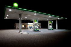 Faith is Torment   Art and Design Blog: Petrol Stations: Photos by Vanessa Leissring