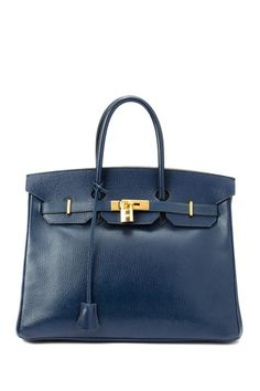 Hermes Leather Birkin 35 Handbag @HauteLook