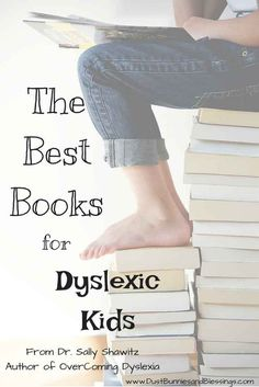 The best dyslexia friendly books for kids to read!
