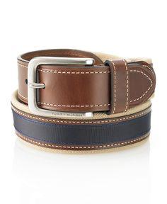 Tommy Hilfiger Belt, Canvas Belt