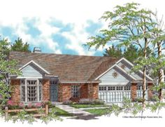 One of my favorite home designs: Mascord Plan 1133 - The Payton